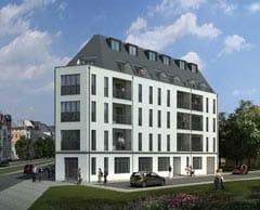 Neubau Wohn- und Geschäftshaus Leipzig